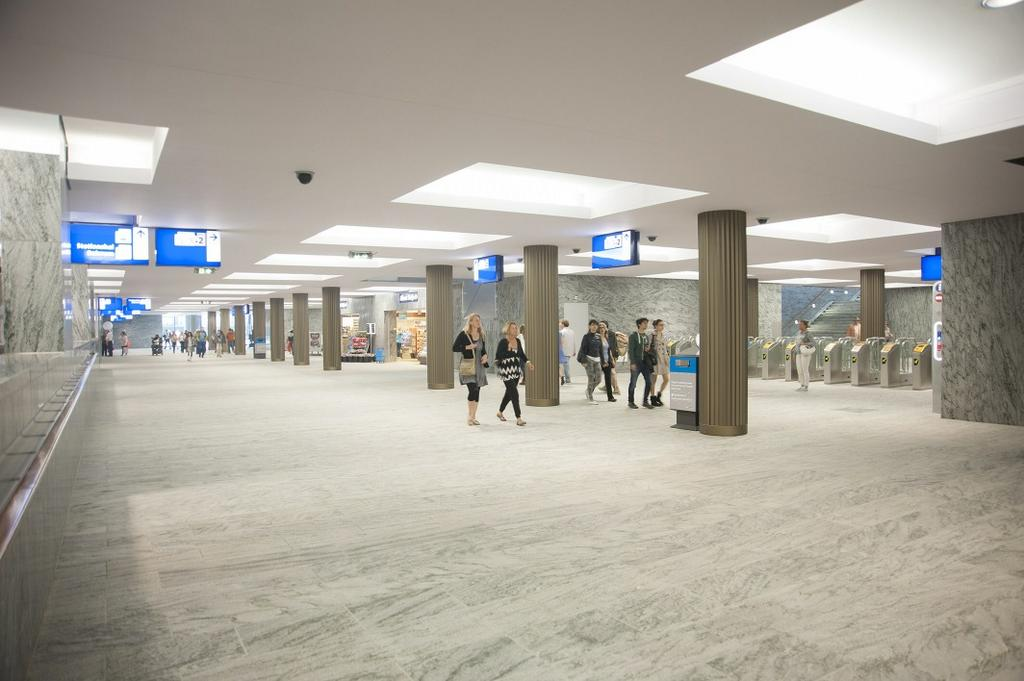 De nieuwe reizigersstunnel in Breda